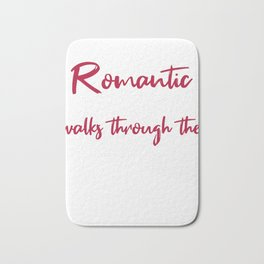Romantic walks through Hardware Bath Mat
