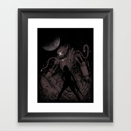 Surprise Attack 2.0 Framed Art Print