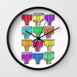 underthings Wall Clock
