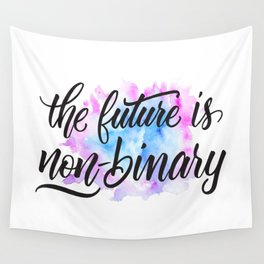Nonbinary Future Wall Tapestry
