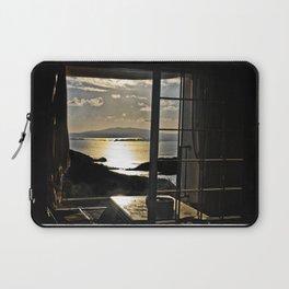The Haunted Sunset Laptop Sleeve