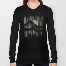 A Wolf in the Night... Long Sleeve T-shirt