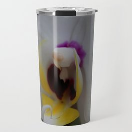 White Phalaenopsis Travel Mug