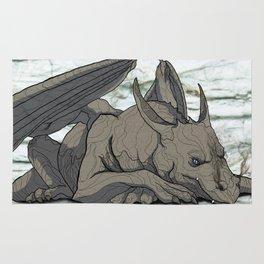 Grey Dragon Rug
