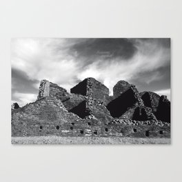 Chaco Canyon, March 2007 Canvas Print