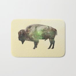 Surreal Buffalo Bath Mat