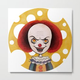 Pennywise Cheese Metal Print