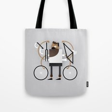 Back to Fixie Business Tote Bag