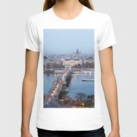 budapest T-shirts featuring Budapest at night by Jovana Rikalo