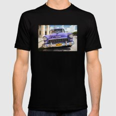 Purple Chevy Mens Fitted Tee MEDIUM Black