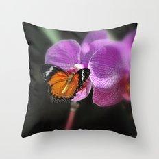 Butterfly Garden 2 Throw Pillow