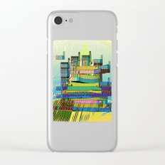 LIVING in MARS / Building 06-07-16 Clear iPhone Case