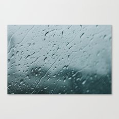 Moody Skies + Autumn Rain Canvas Print