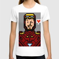 tony stark T-shirts featuring tony stark by saltyking