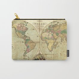 World Map (1826) Carry-All Pouch