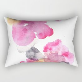 170714 Abstract Watercolour Play 11 |Modern Watercolor Art | Abstract Watercolors Rectangular Pillow
