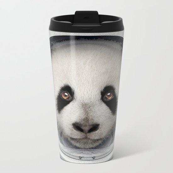 Panda Astro Bear Metal Travel Mug