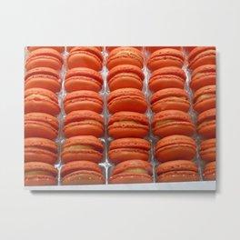 Macaron pattern Metal Print