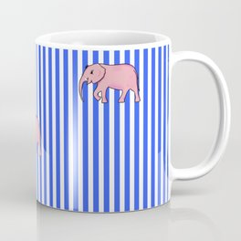 strip and elephants (https://society6.com/vickonskey/collection) Coffee Mug