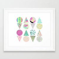 psychedelic Framed Art Prints featuring Psychedelic by Catalina Montaña