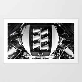 GTR Art Print