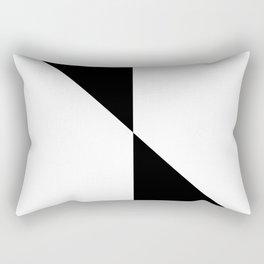 BOHO (BLACK-WHITE) Rectangular Pillow