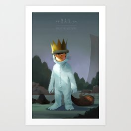Kings of the Wild Things Art Print