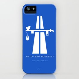 AutoBan Yourself iPhone Case