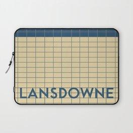 LANSDOWNE | Subway Station Laptop Sleeve
