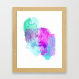 Snot Face Framed Art Print