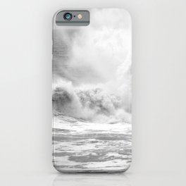 "Ocean Waves ""Smash Rock"" iPhone Case"
