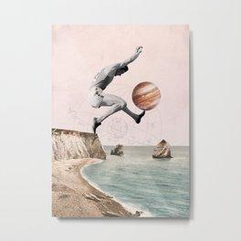 I jump high Metal Print
