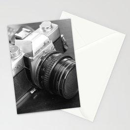 Vintage Minolta Camera B&W Stationery Cards