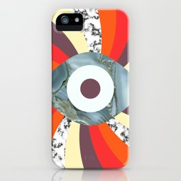 Hypno Retro Eye iPhone Case