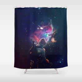 The Follower Shower Curtain
