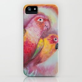 Bird and Birdy iPhone Case