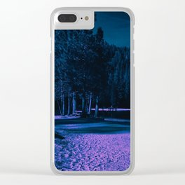 0343 Clear iPhone Case