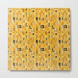 Klimt Pattern Metal Print