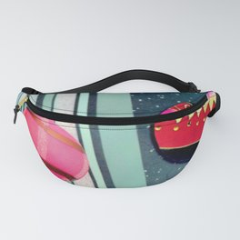 A Bit Of Pink Plaid Fanny Pack