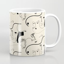 Faces Coffee Mug