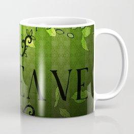 LEAVE - Summer Green Coffee Mug