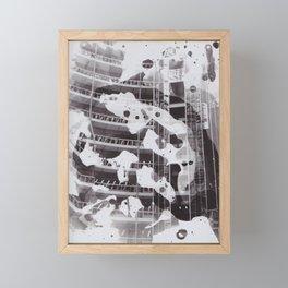Splat. Framed Mini Art Print