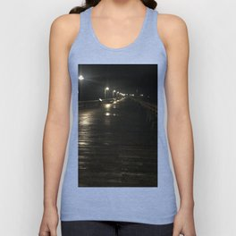 A walk alone Unisex Tank Top
