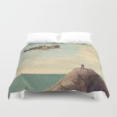 City Kite Afternoon Duvet Cover