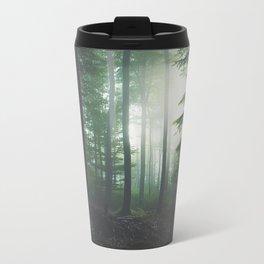 Dreary Black Travel Mug
