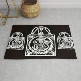 Gothic Gravestone Rug