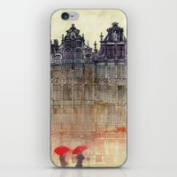 brussels iPhone & iPod Skins featuring Brussels by takmaj