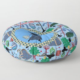 What's in your bag Mary Poppins? Floor Pillow
