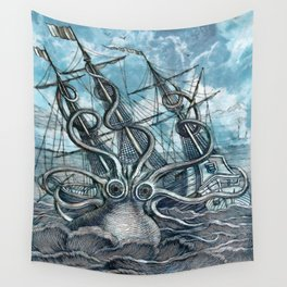 Sea Monster Wall Tapestry