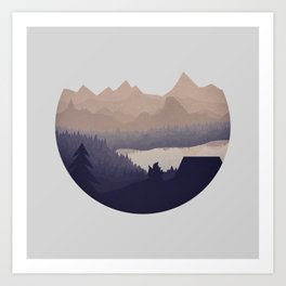 Remote Location Art Print